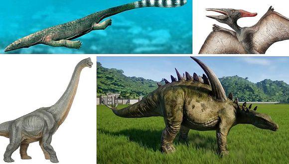 ¿Qué tipo de dinosaurios existieron?   FOTOS