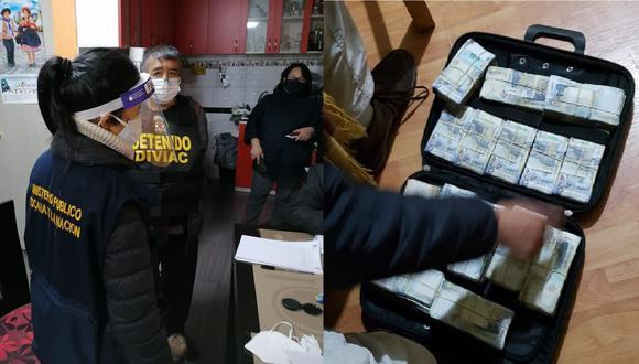 La policía le sigue los pasos a 'Los Dinámicos del Centro' desde el 2019. (Fotos: Ministerio Público)
