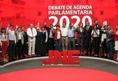 Elecciones 2020: el lado B del debate de candidatos al Congreso organizado por JNE