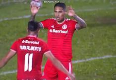 Paolo Guerrero anotó luego de ocho meses en la goleada de Inter de Porto Alegre | VIDEO