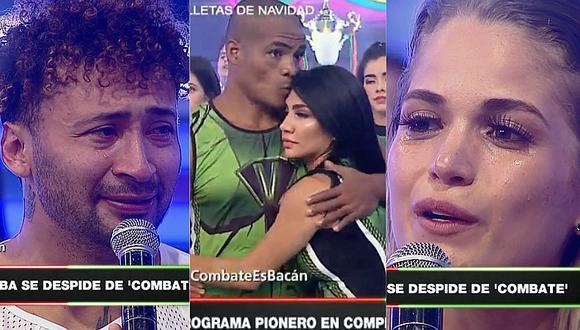 'Combate': integrantes lloraron tras emotivo discurso de Gian Piero Díaz (VIDEO)