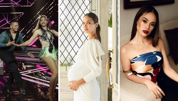 Este 28 de julio, Natalie Vértiz, Carla Rueda y Jossmery Toledo marcaron la noticias del espectáculo. (Foto: Composición Instagram).