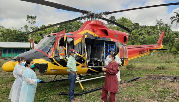 Profesionales de la salud aplicarán las pruebas rápidas de COVID-19 y brindarán atención médica oportuna en las comunidades indígenas. (Foto: Gore Ucayali)