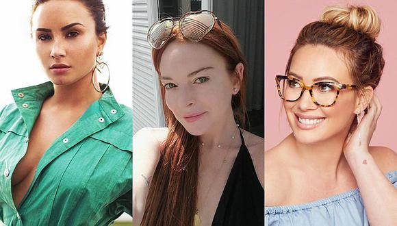 Demi Lovato, Lindsay Lohan y Hilary Duff usaron apps de citas