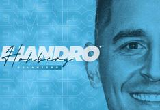 Alejandro Hohberg es oficialmente nuevo jugador de Sporting Cristal