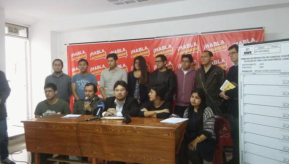 Luis Castañeda Lossio: Inician recolección de firmas para interpelarlo