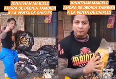 Mil Oficios: Jonathan Maicelo ahora se dedica a vender chifles en moto por culpa del Covid-19