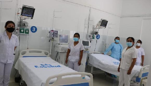 Huánuco:  la Red cuenta ahora con 19 camas UCI COVID-19, lo que amplía la capacidad hospitalaria en favor de los cerca de 180,000 asegurados de la región. (Foto: Essalud)