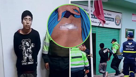Escolar de 14 años es acuchillado para robarle su mochila en Ventanilla | VIDEO
