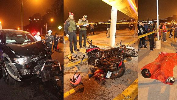 Costa Verde: dueño de la camioneta de terrible accidente viajó a los Estados Unidos (VIDEO)