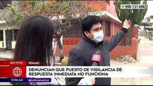 """""""Me acaban de robar"""": Joven sufre asalto en pleno enlace en vivo desde el Rímac"""
