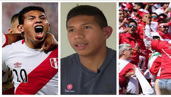 Edison Flores da entrevista y cuenta lo que ocurrió en Perú tras clasificar al Mundial