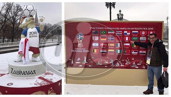 Selección peruana: en Rusia ya se vive la emoción del Mundial 2018 (VIDEO)