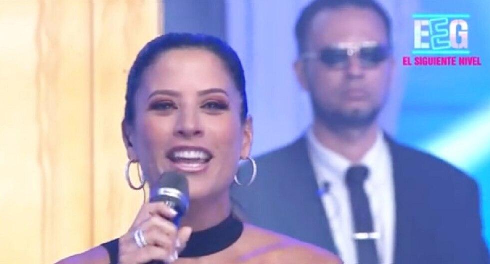 """María Pía Copello fue presentada en """"Esto es guerra"""". (Foto: Captura América TV)"""