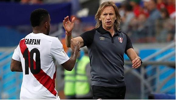 """Ricardo Gareca: """"Creo que el equipo hizo mérito para ganar el partido"""""""
