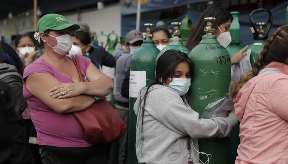 Nueva planta de oxígeno medicinal en Puente Piedra puede recargar balones de manera totalmente gratuita. (Foto: Referencial Renzo Salazar/GEC)