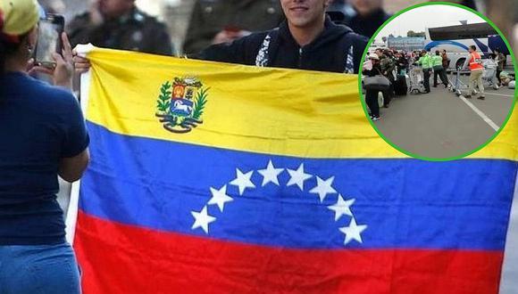 Gran número de venezolanos abandonan el Perú en vuelo gratuito de Nicolás Maduro