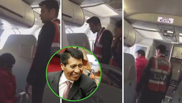 Tripulantes bajan de avión a Moisés Mamani y este cuenta lo que pasó (VIDEO)