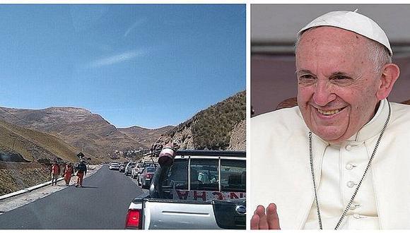 Cerrarán vía que une Cusco con Madre de Dios por llegada del Papa Francisco