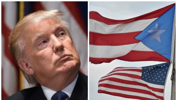 Donald Trump es feliz porque los puertorriqueños formen parte de EE.UU.