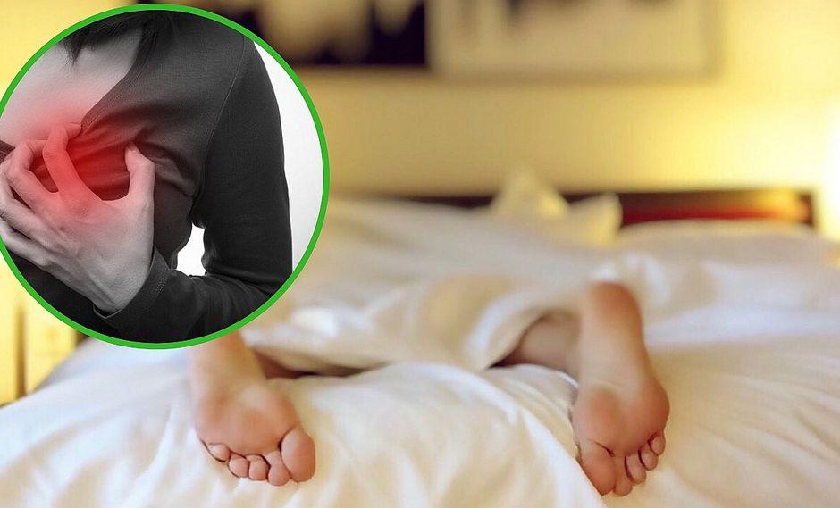 Las personas que duermen demasiado pueden tener problemas al corazón