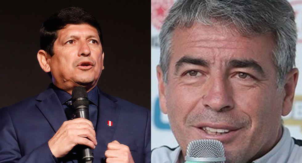 Pablo Bengoechea respondió a los mensajes del presidente de la FPF Agustín Lozano. (Foto: Archivo GEC)