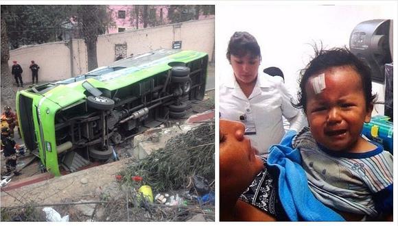 Cerro San Cristóbal: la triste historia del bebé hallado en el accidente