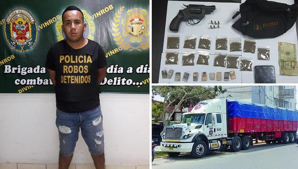 """""""Arturito"""" robaba mercadería de trailers en el Callao"""