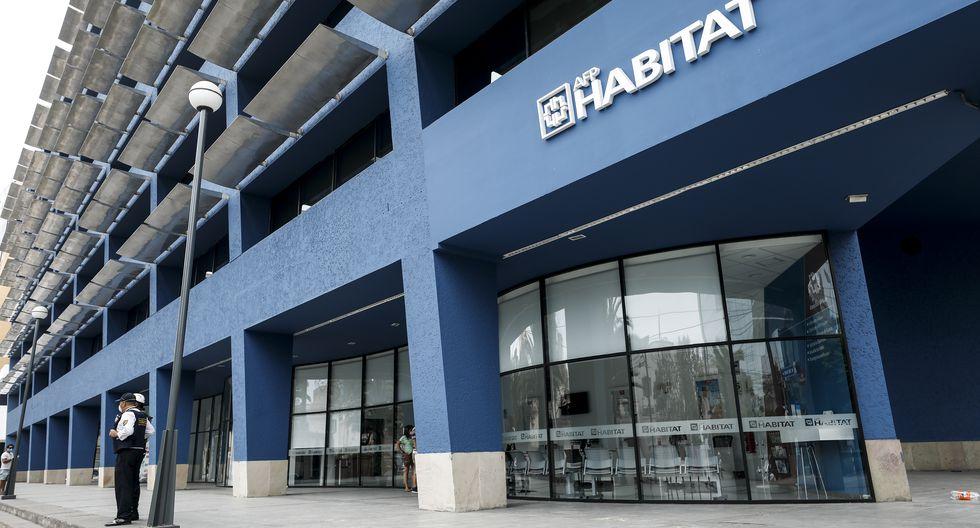 Conozca aquí cuál es el link para realizar la solicitud de retiro en AFP Habitat. (Foto: Miguel Yovera / GEC)