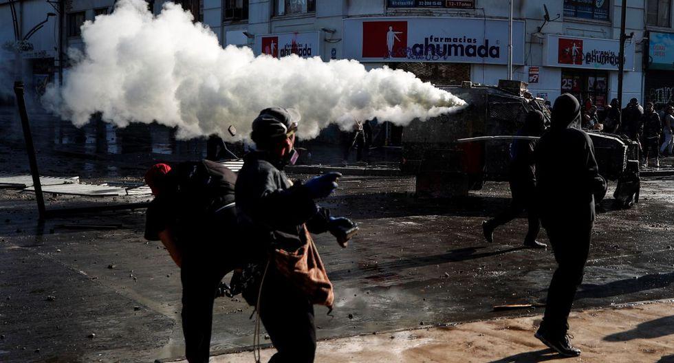 Jorge Martínez, gobernador de la región de Valparaíso, minimizó los hechos y dijo que todo estaba tranquilo. (EFE).