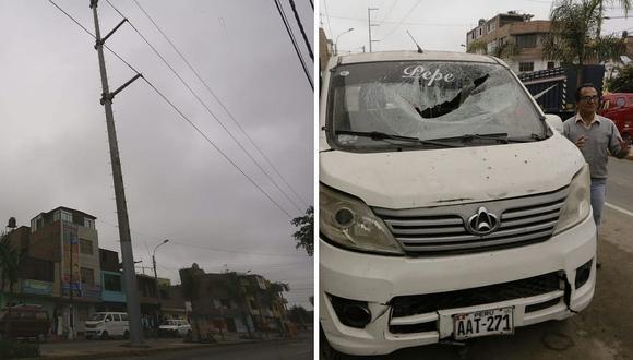 Explosión en torre eléctrica provocó apagón en distritos de Lima y Callao│VIDEO