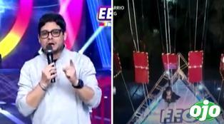 Esto Es Guerra: Gian Piero Díaz confirma suspensión de retos de altura | VIDEO