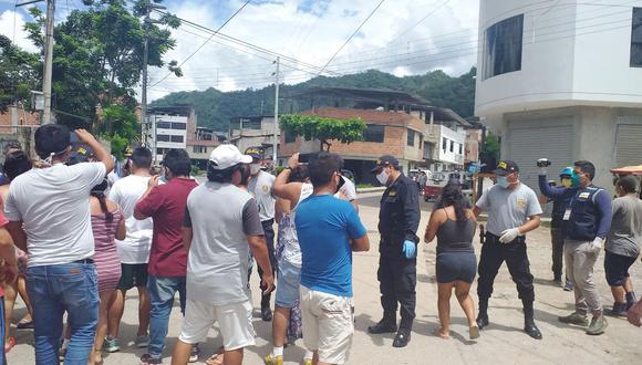 Pobladores de La Merced se encuentran indignados