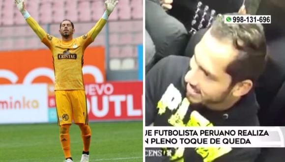 Patricio Álvarez: vecinos denuncian que arquero de Sporting Cristal hace fiestas en su departamento | VIDEO