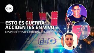 Esto es guerra: los accidentes en vivo del programa reality