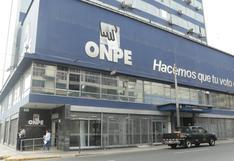 """Elecciones 2020: ONPE pide al JNE poner """"reglas claras"""" sobre reelección de congresistas"""