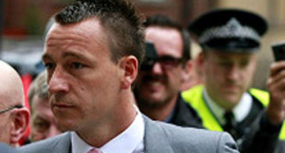 Comienza juicio a John Terry por racismo