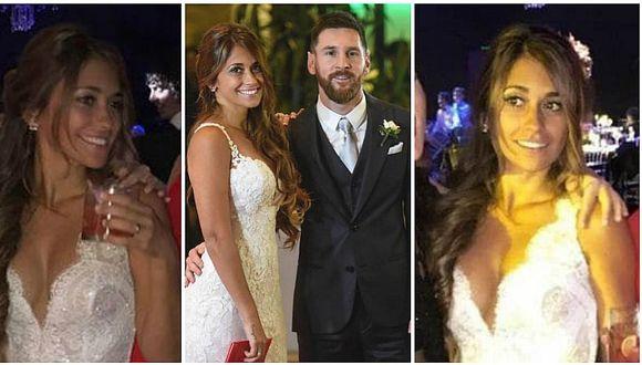 La boda de Messi y Antonella: la novia lució un segundo vestido exclusivo para la fiesta