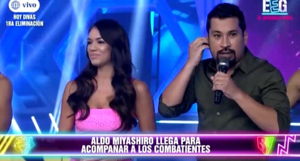 """Aldo Miyashiro es presentado como conductor en """"Esto es guerra"""". (Foto: Captura América TV)"""