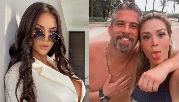 """Sheyla Rojas habló de su relación con Pedro Moral en entrevista con el programa """"Amor y Fuego"""". (Foto: Composición/Instagram)"""