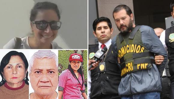 Revelan qué tipo de relación tenía Vicente Orsero con hija de ancianos asesinados en La Molina
