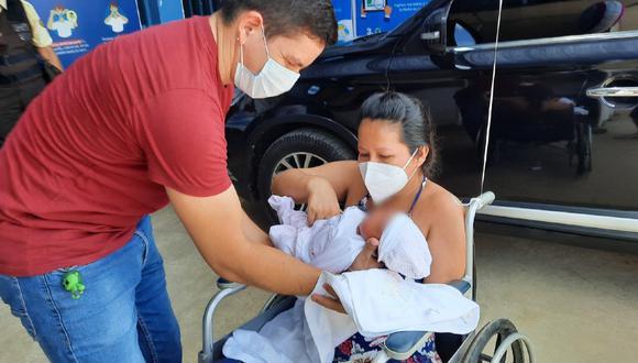 El Seguro Social de Salud (EsSalud) a través de una nota de prensa indicó que se trata de Vanesa Malatesta Castro (35), una joven mujer que padecía de una incompetencia cervical que, en dos ocasiones, impidió que alumbrara. (Foto: EsSalud)