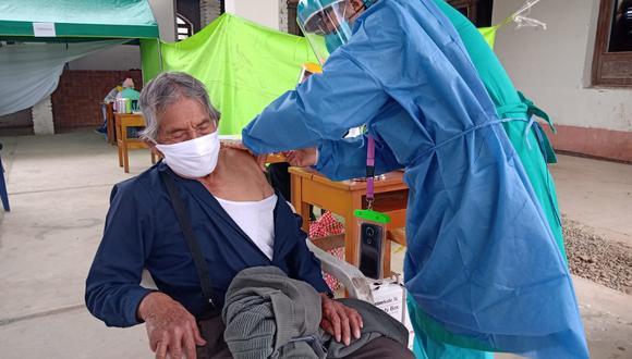Junín: Más de 46 mil adultos mayores fueron vacunados contra el neumococo por la Diresa (Foto: Diresa Junín)