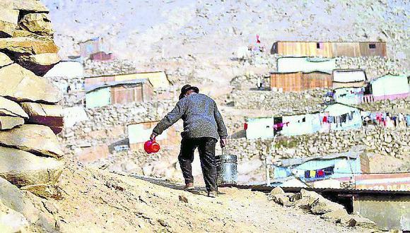 Huaycán sufre por carencias