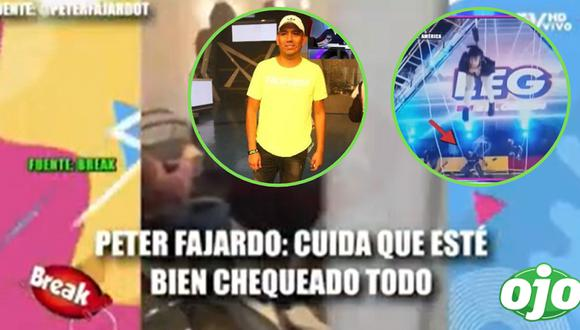 EEG: filtran conversación entre Peter Fajardo y el encargado del juego antes de la caída de Elías