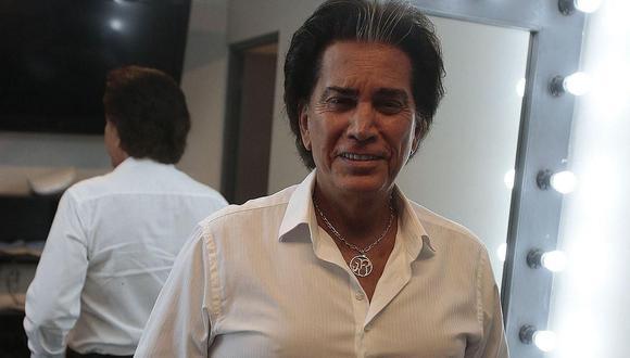 José Luis Rodríguez, 'El Puma', desmiente que se vaya a convertir en padre de gemelos a los 77 años. (Foto: GEC)