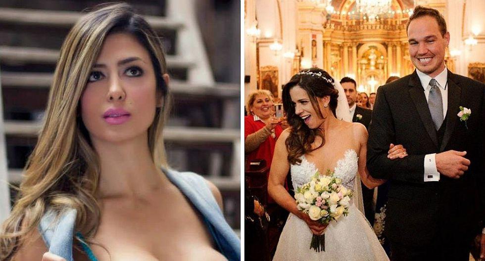 Claudia Ramírez y su drástica decisión luego de la boda de George Forsyth y Vanessa Terkes