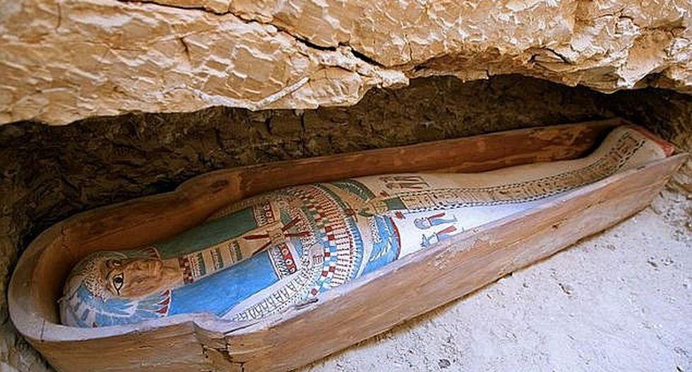 Nueva técnica permite leer los papiros que forran sarcófagos egipcios