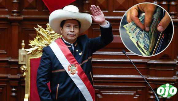Pedro Castillo no cumple promesa y cobra suelda de S/17,600