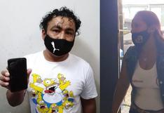 Mujer es intervenida en puerta de penal de Piura con cocaína y marihuana escondida en bermudas y medias